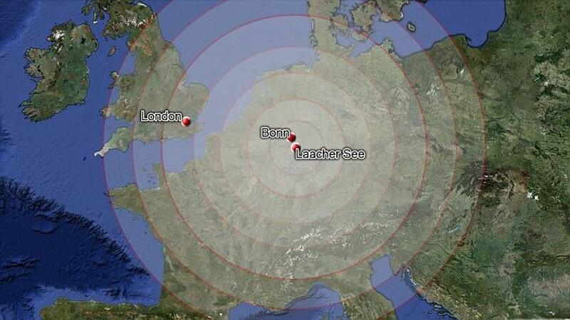 Europa sta pe un butoi gigantic de pulbere. Un vulcan din Germania da semne ca se trezeste