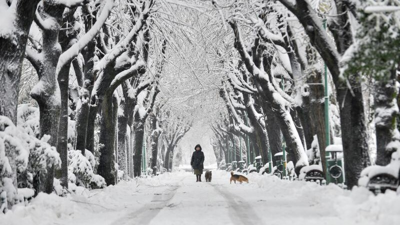 Temperaturi de -20 de grade Celsius si ninsori in 10 judete. Cum se schimba vremea de astazi si cand se va incalzi