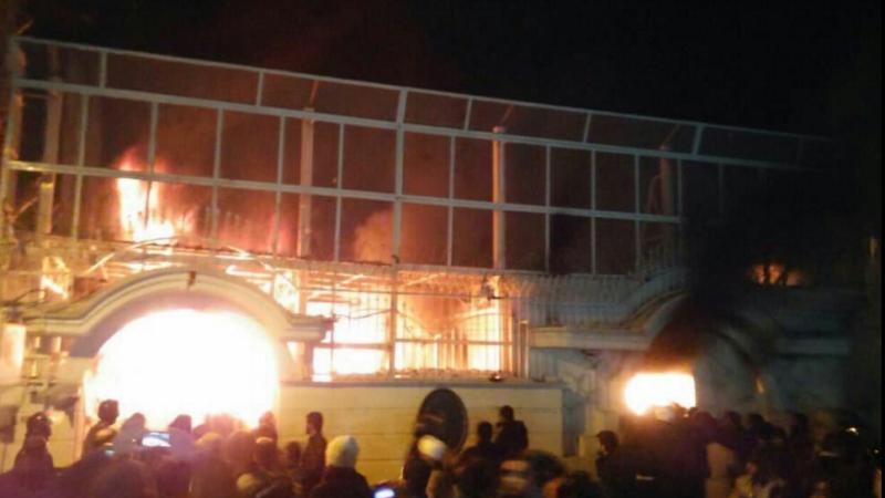 Proteste violente in Iran, dupa ce Arabia Saudita a executat un cleric siit. Ambasada saudita, atacata cu cocktailuri Molotov