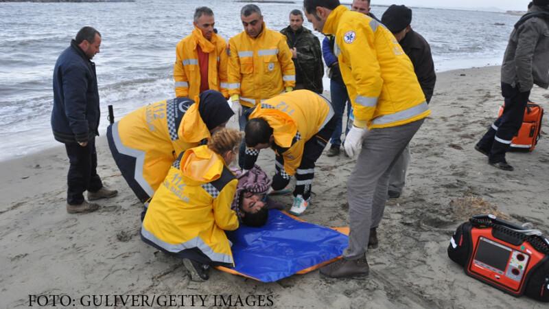 Cadavrele a zeci de refugiati, aruncate de valuri pe plajele Turciei. Care a fost cauza tragediei