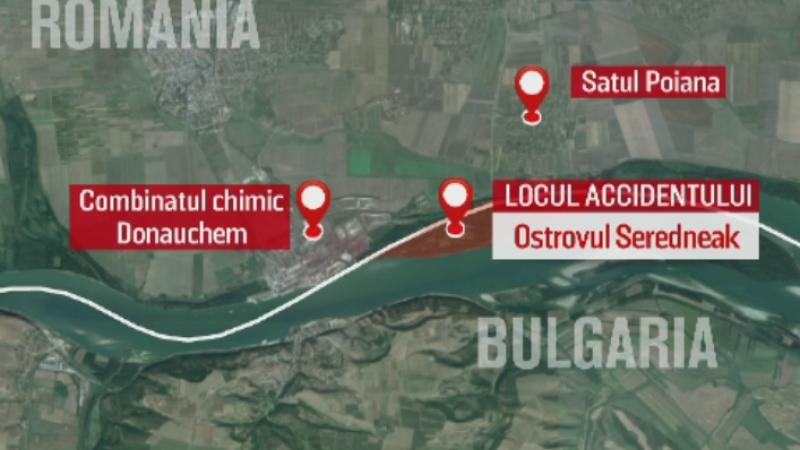 Insula bulgarilor de langa malul romanesc al Dunarii si povestea barbatului care a murit acolo dupa ce a plecat sa taie lemne