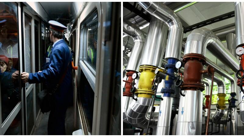 CFR si Radet vor plati pentru mizeria din vagoane si gerul din case. Ce amenzi au primit de la ANPC
