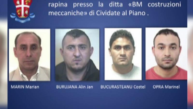 Italienii cer extradarea a patru romani, autorii unui jaf extrem de violent. Ce au facut si metoda prin care au fost gasiti