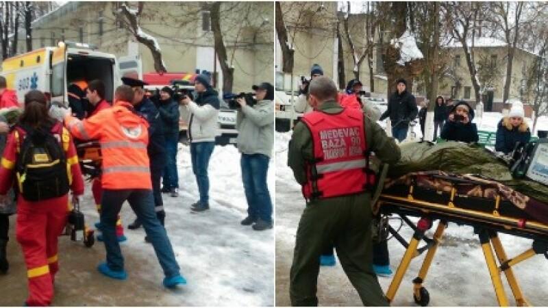 Femeile ranite in incendiul de la Chisinau, in stare grava la Spitalul de Arsi. Oferta facuta de Patriarhia romana rudelor