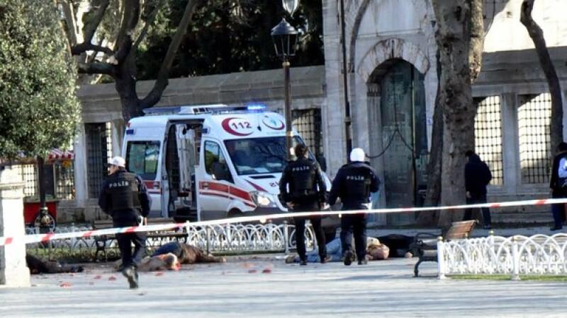 Atentat sinucigas in Istanbul: 10 turisti ucisi, 8 dintre ei germani. Autorul atacului, identificat ca militant ISIS