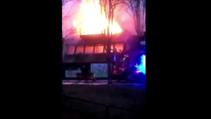 Panica dupa ce un restaurant a luat foc in Capitala. Nimeni nu a fost ranit, dar pagubele sunt insemnate