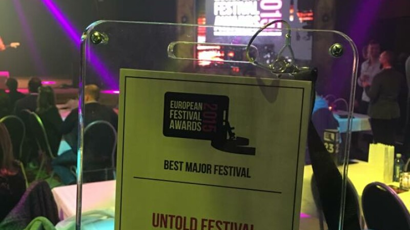 BEST MAJOR EUROPEAN FESTIVAL: UNTOLD. UNTOLD este marele castigator la European Festival Awards 2015