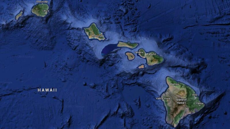Doua elicoptere militare americane s-au ciocnit in insulele Hawaii. Echipajele sunt de negasit