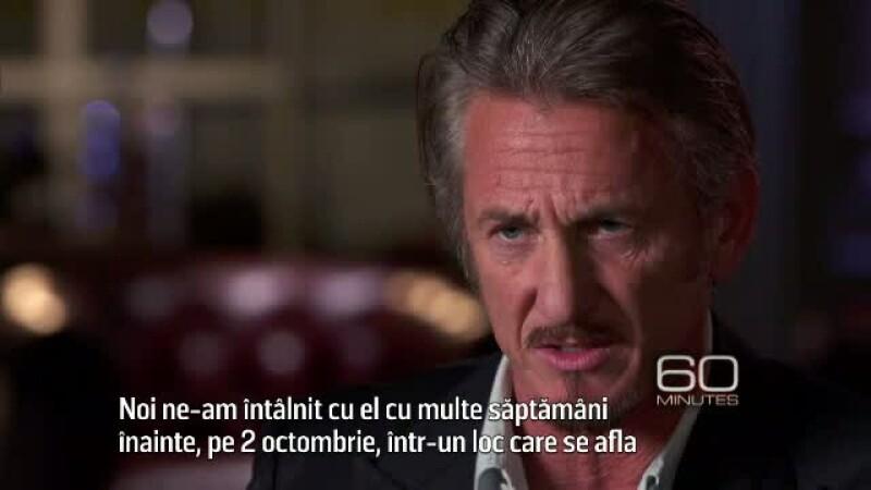 Dezvaluirile lui Sean Penn despre interviul cu