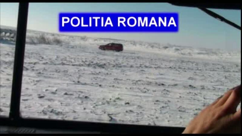 Un barbat din Constanta care a ramas blocat pe un camp, salvat la limita. Cum a supravietuit timp de 3 zile in masina
