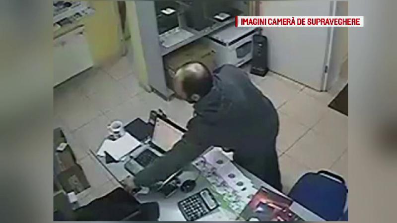 Un fost detinut a vrut sa fure dintr-o firma IT, insa a fost prins cu ajutorul camerelor de securitate. Cine l-a recunoscut