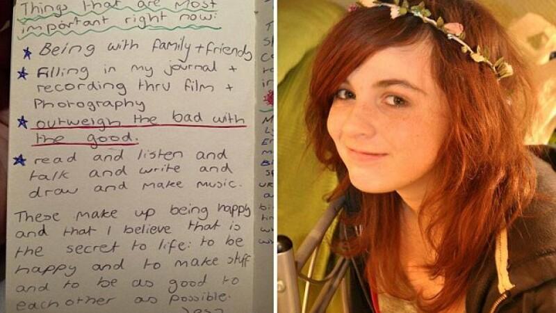 Ultimele cuvinte ale unei adolescente care a murit de cancer. Ce a scris pe o foaie cand a aflat ca mai are putin de trait