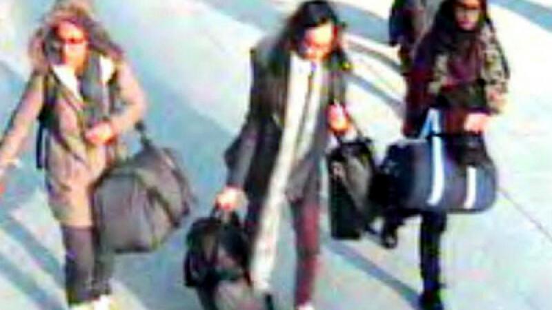 Doua din cele 3 adolescente din Londra care au plecat in Siria sunt deja vaduve. Dezvaluirile facute de avocatul familiilor
