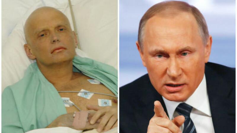 Afirmatiile care i-ar fi adus condamnarea la moarte lui Aleksandr Litvinenko. Fostul spion il acuza pe Putin de pedofilie