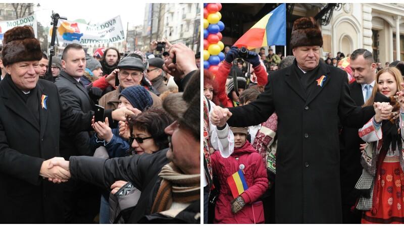 Klaus Iohannis, la Iasi: