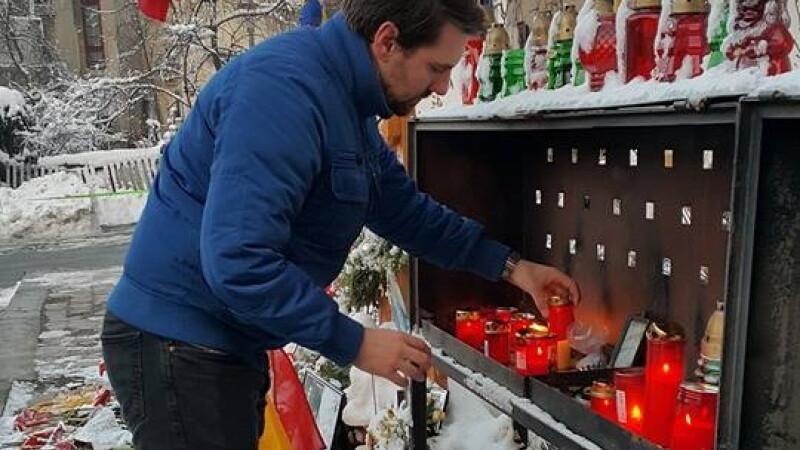 Nicolae de Romania, moment de reculegere la Colectiv. Un bucurestean l-a recunoscut, iar fotografiile au ajuns pe Facebook