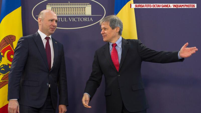 Criza de la Chisinau isi cauta rezolvarea la Bucuresti. Conditiile puse de guvernul roman pentru ajutorul financiar