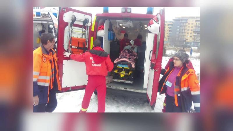 Decizie extrema luata de o femeie din Constanta, dupa ce i-a luat foc vila. S-a speriat si s-a aruncat de la etajul unu