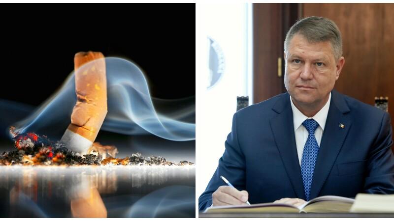 Klaus Iohannis a promulgat legea referitoare la interzicerea fumatului in spatiile publice inchise. Cand intra in vigoare