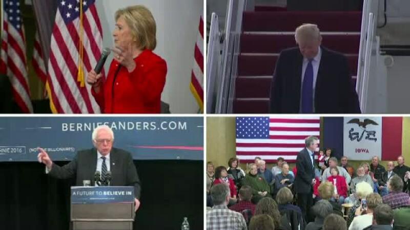 Luni incepe procesul de triere a candidatilor la presedintia SUA. Donald Trump: