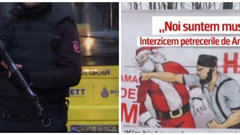Atac armat in Istanbul, soldat cu 39 de morti: agresorul e cautat de politie. Mesajul afisat in oras in urma cu cateva zile