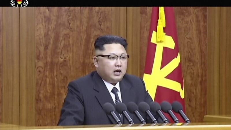 Coreea de Nord a inceput noul an cu amenintari. Mesajul televizat al lui Kim Jong Un in prima zi din 2017