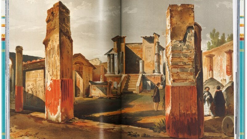 Cum arata celebrul oras antic Pompeii, inainte sa fie devastat de vulcan in doar 24 de ore. Imagini COLOR in premiera
