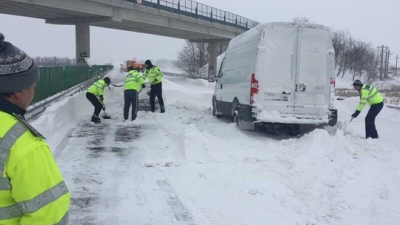 Situatia drumurilor nationale: a fost deschisa o portiune din A2. Nemultumit, premierul a cerut demisia sefului CNAIR