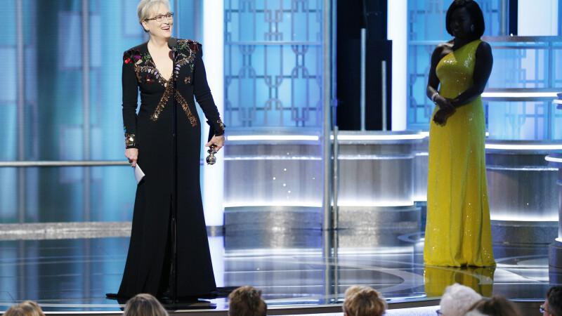 Discursul lui Meryl Streep despre care vorbeste toata America. Cele mai tari momente si gafe de la Globurile de Aur 2017