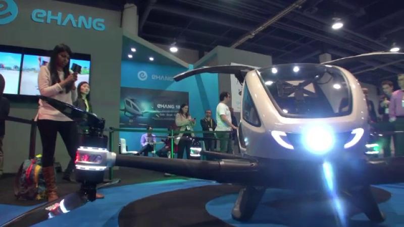 iLikeIT. 2017 este anul dronelor. Primul model destinat transportului personal prezentat la CES, in Las Vegas