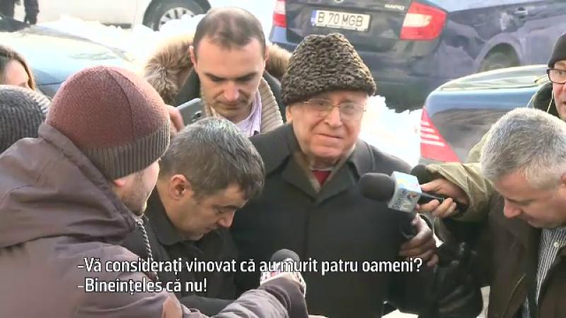 Ion Iliescu, inculpat pentru infractiuni contra umanitatii in