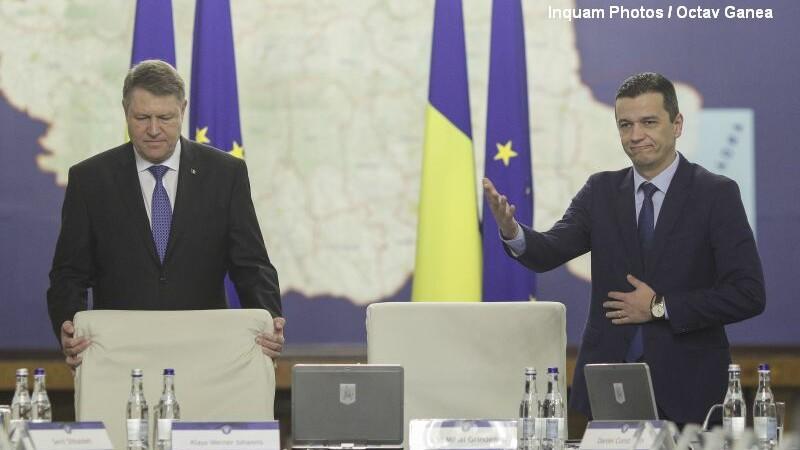 Presedintele Klaus Iohannis l-a invitat pe premierul Sorin Grindeanu la Cotroceni, impreuna cu ministrul de Finante