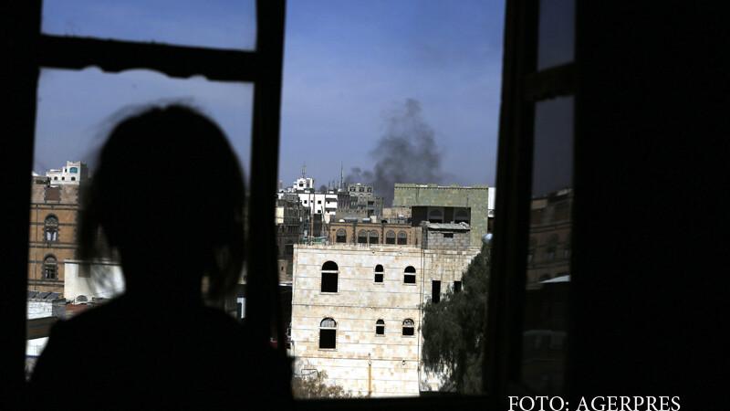 Masacru in Yemen, dupa primul raid cu drone al administratiei Trump. Opt femei si opt copii au murit