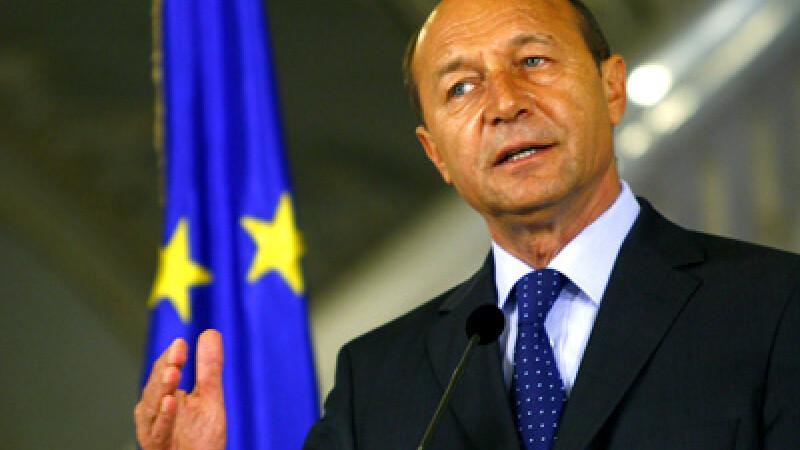 Traian Basescu a inaugurat Memorialul Victimelor Holocaustului