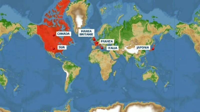 Harta exporturilor romanesti de la BAC 2013. Unde vor studia 4.000 de elevi cu note mari la examen
