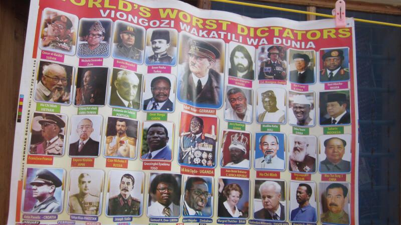 Prima reactie a lui Gheorghe Gheorghiu dupa ce a aflat ca a fost facut dictator pe calendarele din Kenya: