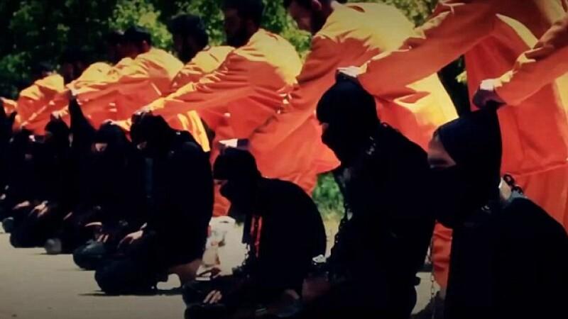 Ce le-a facut Statul Islamic jihadistilor care au incercat sa fuga de lupta: