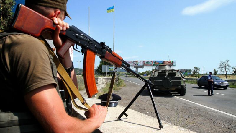Razboi pe tigari intre gruparile paramilitare, la granita Transnistriei. Ultranationalistii si-au facut propria