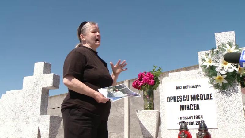 Femeie obligata sa-i plateasca daune morale nurorii sale pentru inscriptia de pe mormantul fiului. Ce a scris mama indurerata