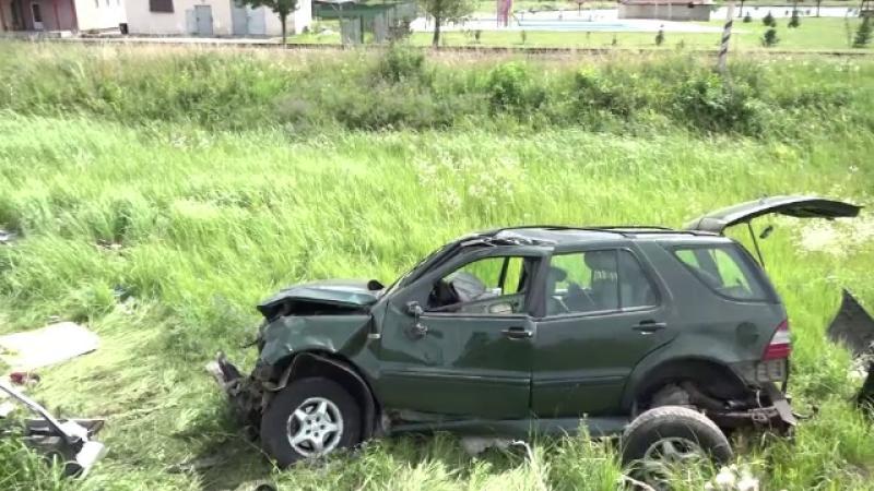 Tanarul vinovat de accidentul din Satu Mare, in urma caruia au murit patru persoane, a fost retinut pentru 24 de ore