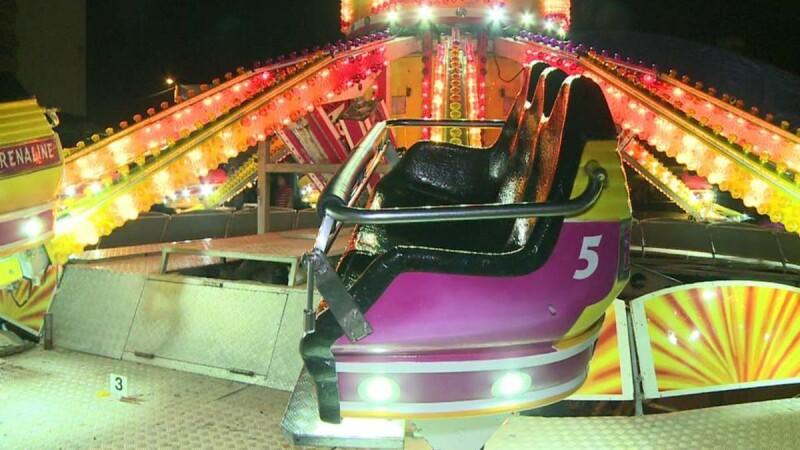 Trei tinere au ajuns la spital dupa ce au fost aruncate dintr-un carusel, la Medias. Din ce cauza s-ar fi produs accidentul