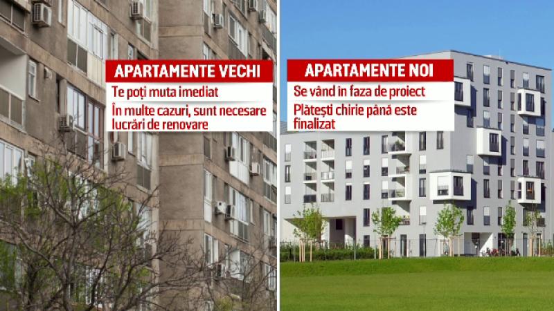 Apartamentele vechi se vand mult mai repede fata de locuintele noi. Ce ii determina pe romanii sa opteze pentru ele