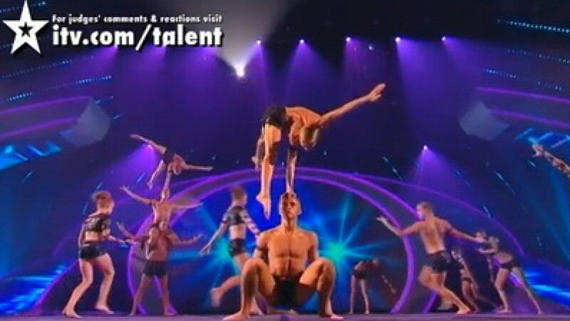 Acrobatii care te lasa masca: castigatorii Britain's Got Talent! VIDEO