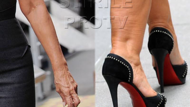 De necontestat. Ea este vedeta cu cele mai URATE maini de la Hollywood. FOTO