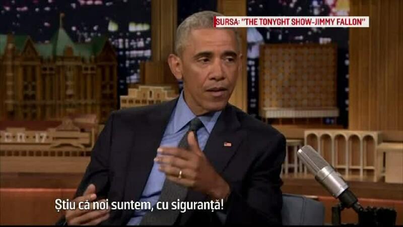 Barack Obama, la Jimmy Fallon show: