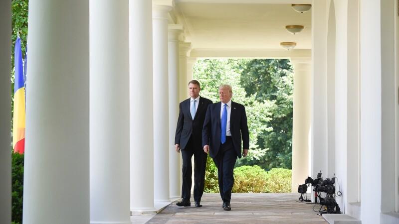 Donald Trump l-a laudat pe Klaus Iohannis pentru lupta anticoruptie.