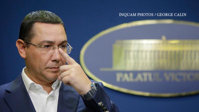 Ponta atacă dur Guvernul Tudose: Modificarea Codului fiscal este o ticăloșie fără margini