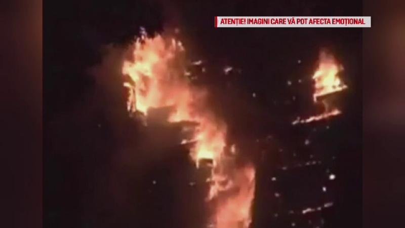 Bilantul incendiului din Grenfell Tower ar putea ajunge la 58 de morti. Sanse aproape nule pentru persoanele date disparute