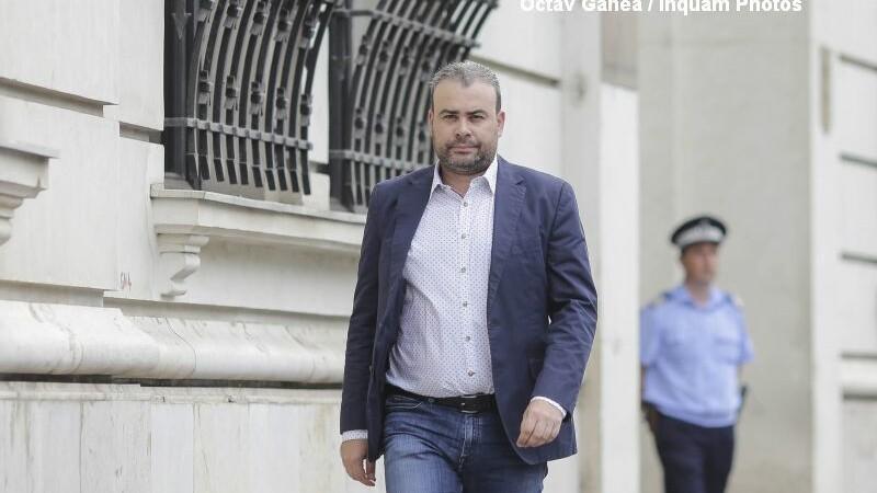 Darius Valcov, politicianul care a facut raportul de evaluare a activitatii Guvernului Grindeanu, la ICCJ