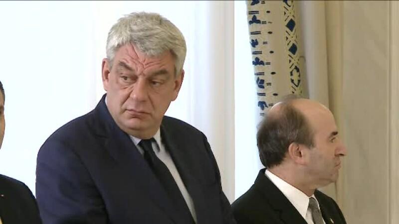 Premierul Tudose se intalneste la Bruxelles, in prima vizita externa, cu mai multi oficiali: